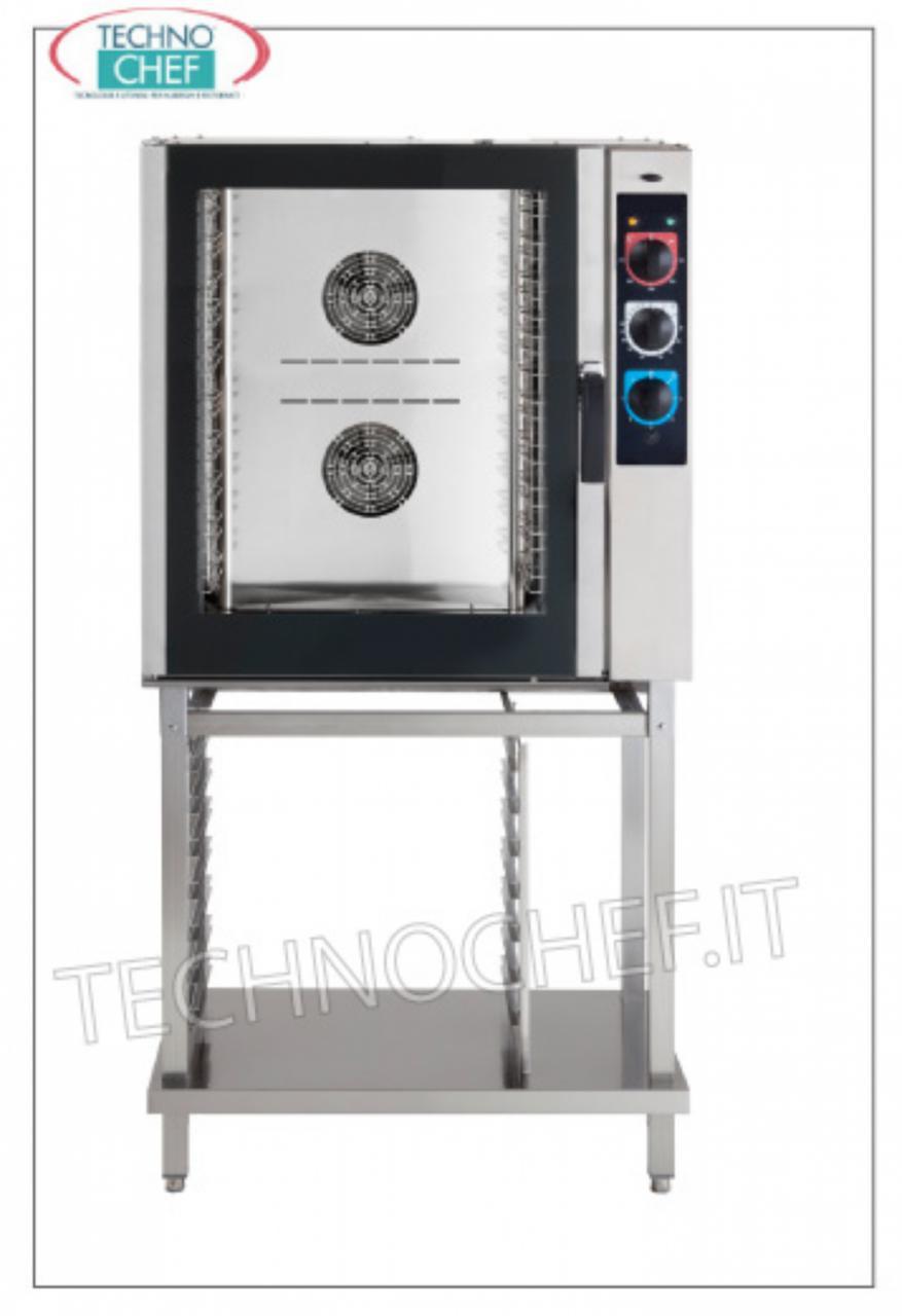 Forno convezione vapore a gas ventilato per10 teglie gn 1 - Forno a vapore prezzi ...