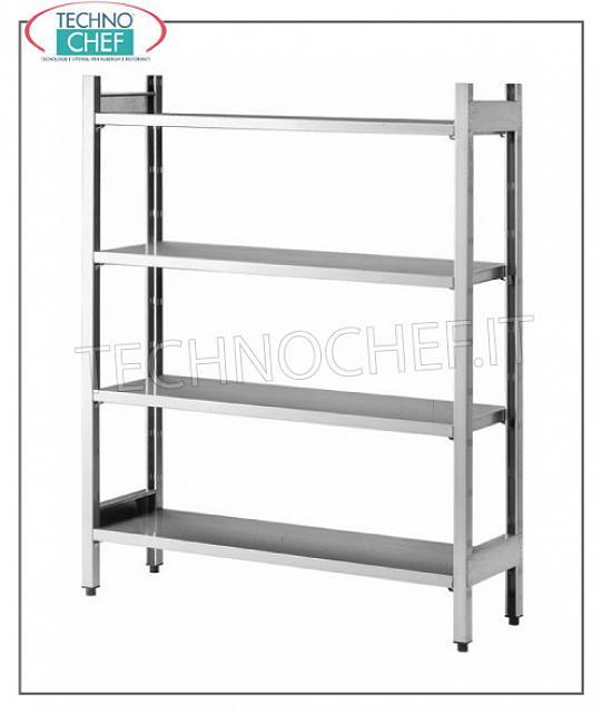 Scaffali componibili in acciaio inox scaffalature per for Scatolati in acciaio inox