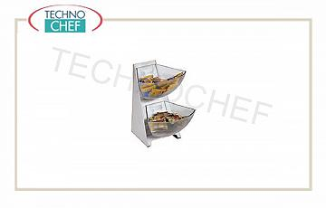 Espositore per buffet Multi Dispenser 2 Piani