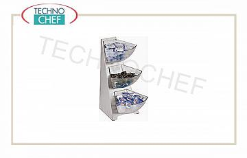 Espositore per buffet Multi Dispenser 3 Piani