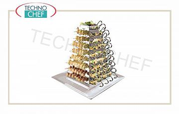 Display e piramidi per buffet Display Piramide Cm 53